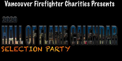 2020 Vancouver Firefighters Hall of Flame Calendar Selection Party