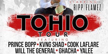 tOHIO Tour 2019 (Cincinnati, Ohio) feat Cook laflare x Prince Bopp x Ripp Flamez tickets