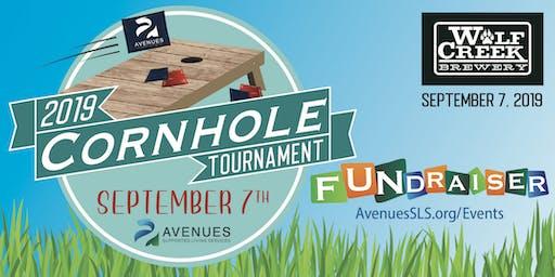 Cornhole Tournament 2019 - 3rd Annual FUNdraiser AvenuesSLS.org