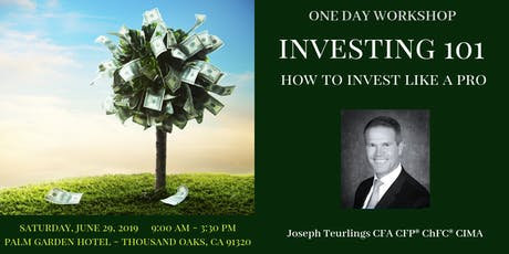 Investing 101- Learn How to Invest Like a Pro tickets