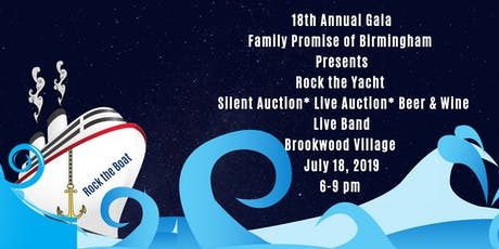 Rock the Yacht Gala tickets