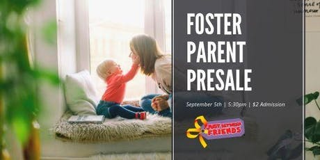 Foster & Adoptive Parent Presale - JBF Roseville Fall 2019 Event $2 Admission (paid at the door) tickets