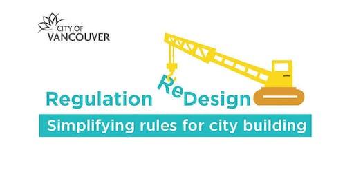 Regulation Redesign Workshop 2019: Calculating Floor Area & Building Height