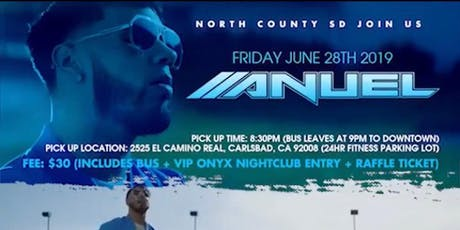 Anuel Concert Ticket giveaway Party bus(June 28th) tickets