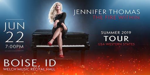 Jennifer Thomas - The Fire Within Tour (Boise, ID)