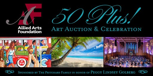 50 Plus! Art Auction & Celebration