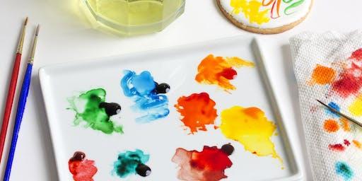 Watercolor Cookie Class