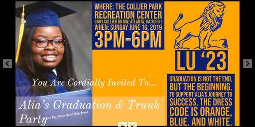 Alia Holt's Graduation and Trunk Party