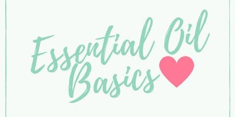 Essential Oil Basics Class tickets
