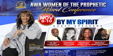 AWA Women Of The Prophetic Word tickets