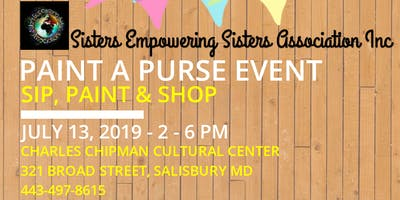 Paint A Purse Day Party