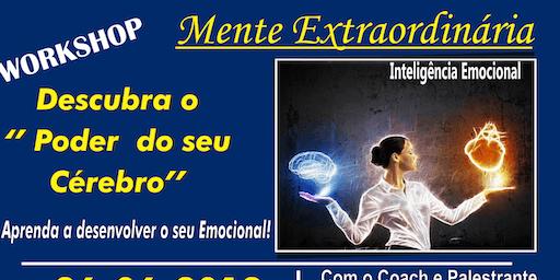 WORSHOP - MENTE EXTRAORDINÁRIA