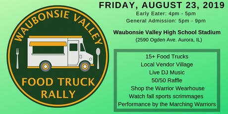 Waubonsie Valley Food Truck Rally 2019 tickets
