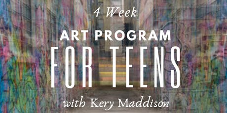 4 Week Art Program for Teens tickets