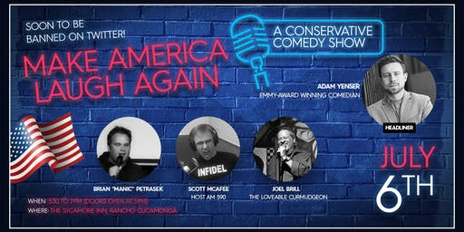 Make America Laugh Again - Dinner & Comedy Show