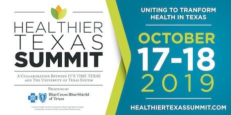 Healthier Texas Summit tickets