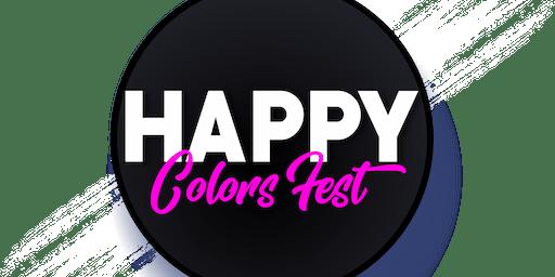 HAPPY COLORS FEST - 1º EDIÇÃO