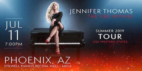 Jennifer Thomas - The Fire Within Tour (Phoenix, AZ) tickets