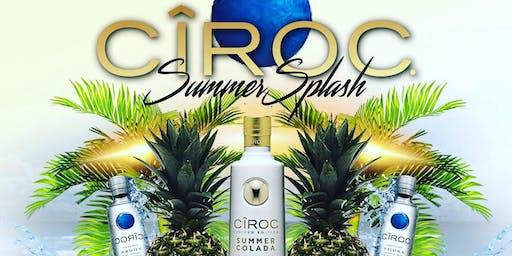 Ciroc Summer Splash Pool Party