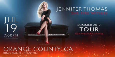Jennifer Thomas -The Fire Within Tour (Orange County CA) Ft. J.ournal Poems tickets