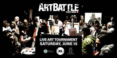 Art Battle Fort Erie - June 15, 2019