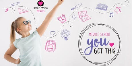 YOU GOT THIS: Middle School (for girls) tickets