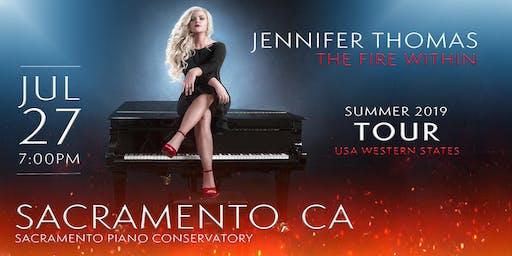 Jennifer Thomas - The Fire Within Tour (Sacramento, CA)