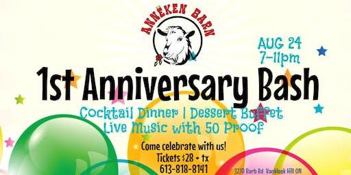 Annëken Barn's 1st Anniversary Bash