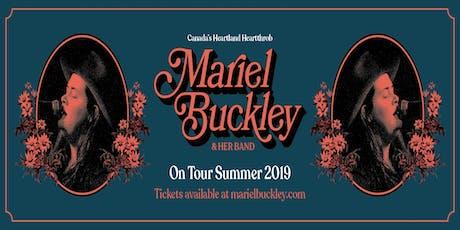 Mariel Buckley tickets