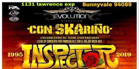 SKA CON CARIÑO tour 2019 INSPECTOR  tickets
