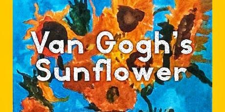 Van Gogh's Sunflower tickets