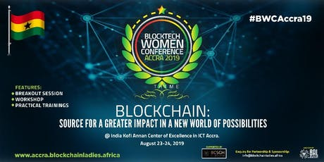 BLOCTECH WOMEN CONFERENCE ACCRA 2019 tickets