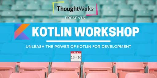 Unleash Kotlin - A Hands-On Programming Workshop