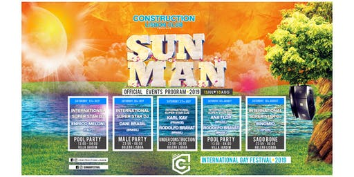 Sunman Festival 2019 - Tickets ALL EVENTS