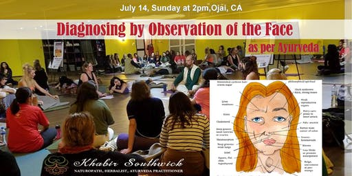 Ayurveda Class:  Diagnosing by Observation of the face.