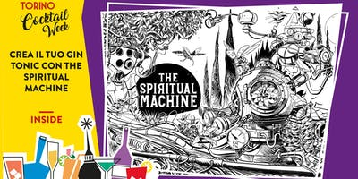 Crea il tuo gin tonic con THE SPIRITUAL MACHINE
