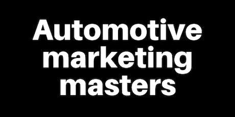 Automotive Marketing Masters tickets