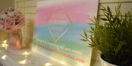 Nourish Northern Mamas Vision Boarding And Pink Fizz