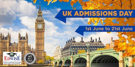 UK ADMISSIONS DAY IN INDORE
