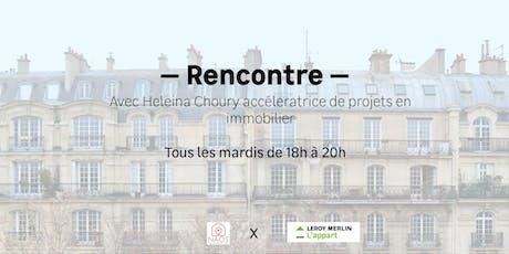 Heleina Choury répond à toutes vos questions sur l'immobilier ! billets