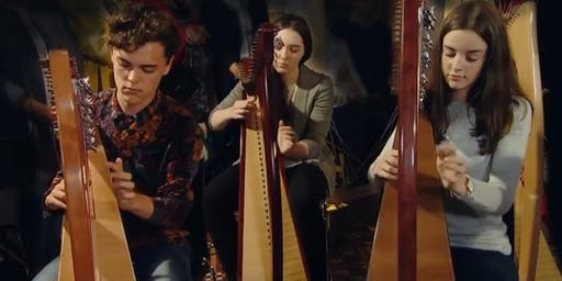 International Festival for Irish Harp : Rising Harp Stars Music Generation Louth Harp Ensemble