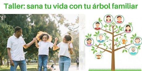 Taller vivencial: Sana tu vida con tu árbol familiar entradas