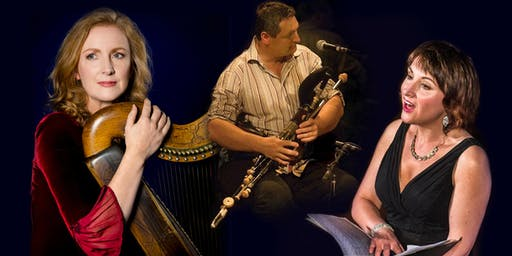 International Festival for Irish Harp : Ceol na dTéad featuring Siobhán Armstrong, Róisín Elsafty and Ronan Browne