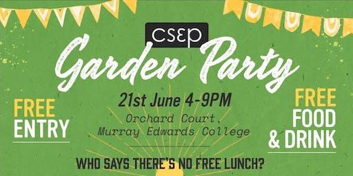 CSEP Garden Party 2019