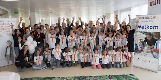CoderDojo Leeuwarden #SO5EP06 Webdevelopment, Scratch en Raspberry Jam
