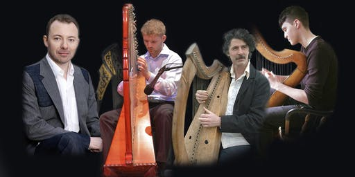 International Festival for Irish Harp : Oíche na bhFear with Cormac de Barra, Oisín Morrison, Paul Dooley and Séamas Ó Flatharta