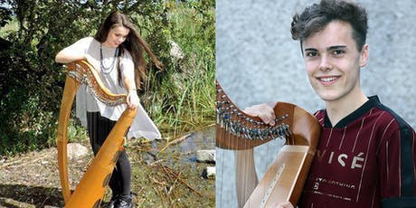 International Festival for Irish Harp : Rising Harp Stars Aisling Lyons and Donnchadh Hughes tickets