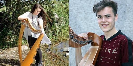 International Festival for Irish Harp : Rising Harp Stars Aisling Lyons and Donnchadh Hughes