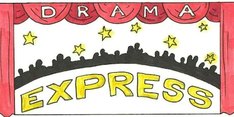 Drama Express Summer Workshop-Fun drama games to create a character for the stage tickets