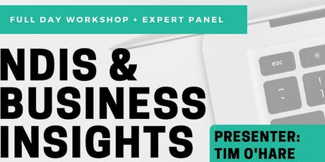 NDIS & BUSINESS INSIGHTS tickets